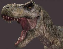 The CINEMA T Rex - 3d model animated