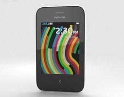 Nokia Asha 230 White 3D
