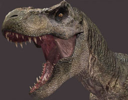 animated The CINEMA T Rex - 3d model a