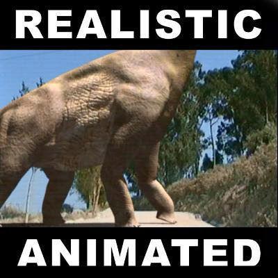 Brachiosaur Jurassic Park - 3d model a