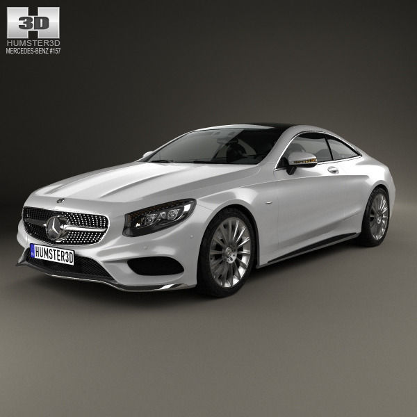 Mercedes-Benz S-Class Coupe AMG Sports Package 2014 3D