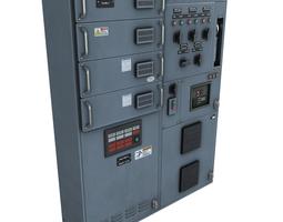 3d asset PBR switchgear
