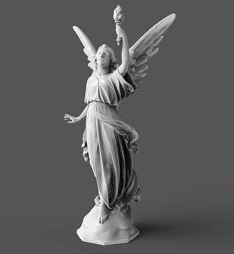 3d Printable Model Goddess Statue Cgtrader