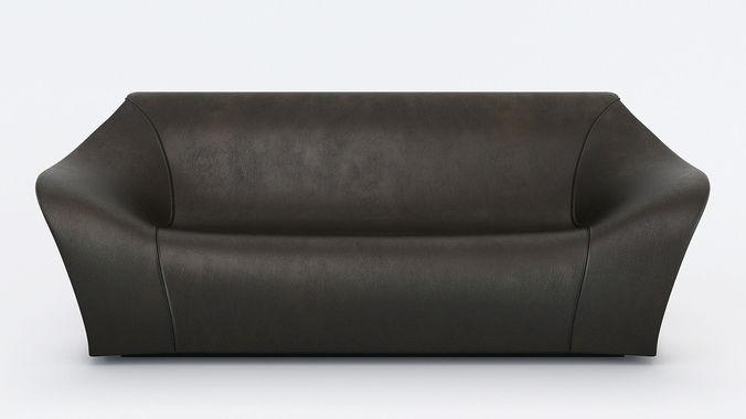 Split Sofa And Chair By Alex Hull 3d Model Max Obj Fbx