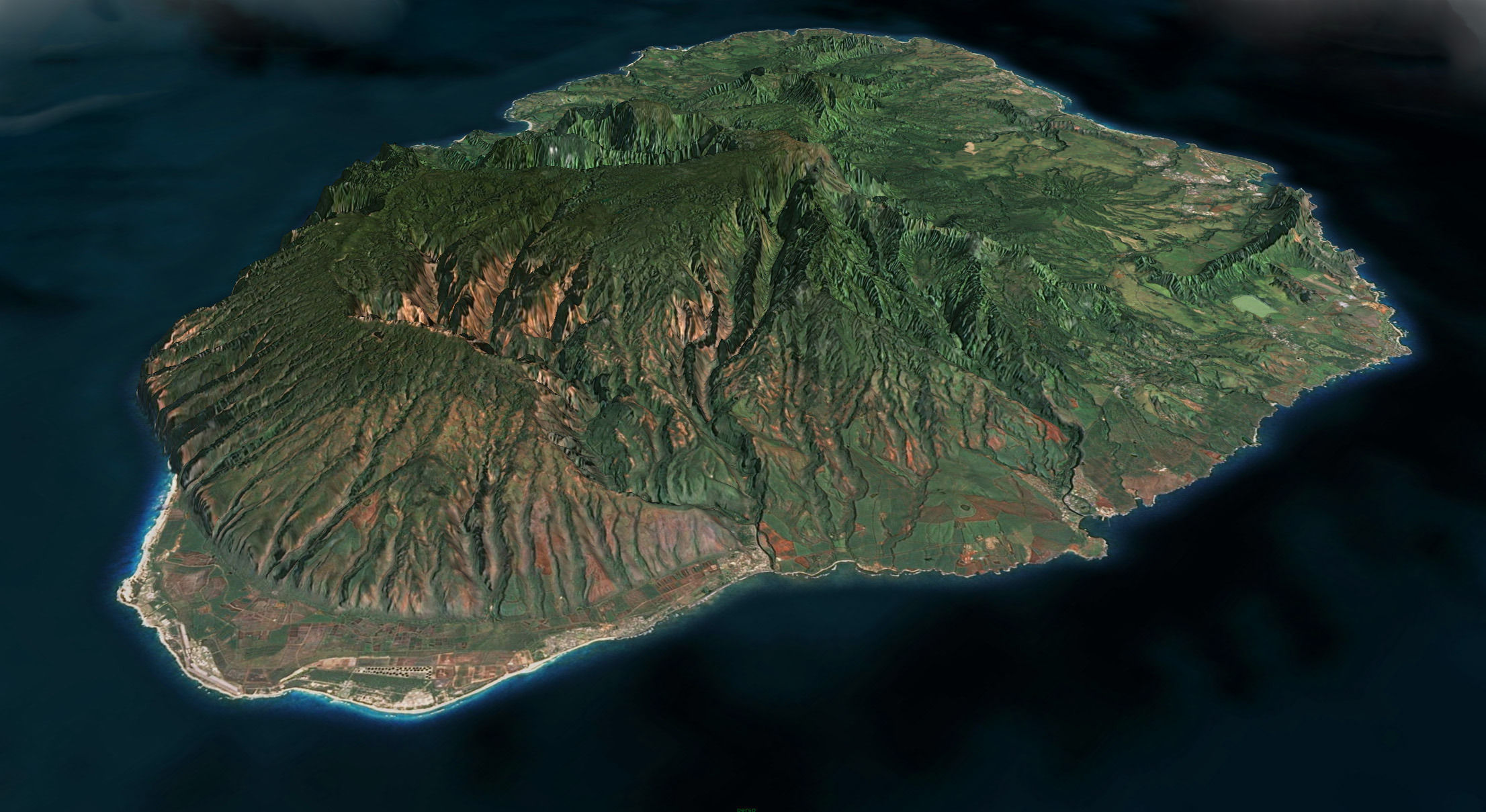 Buy And Sell Apps >> 3D asset Kauai Island | CGTrader