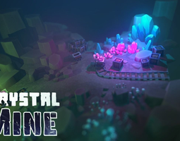 3D model Crystal Mine