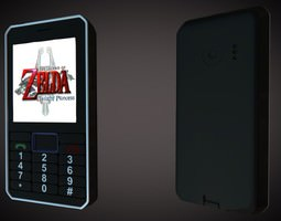 3D Nokia mobile phone
