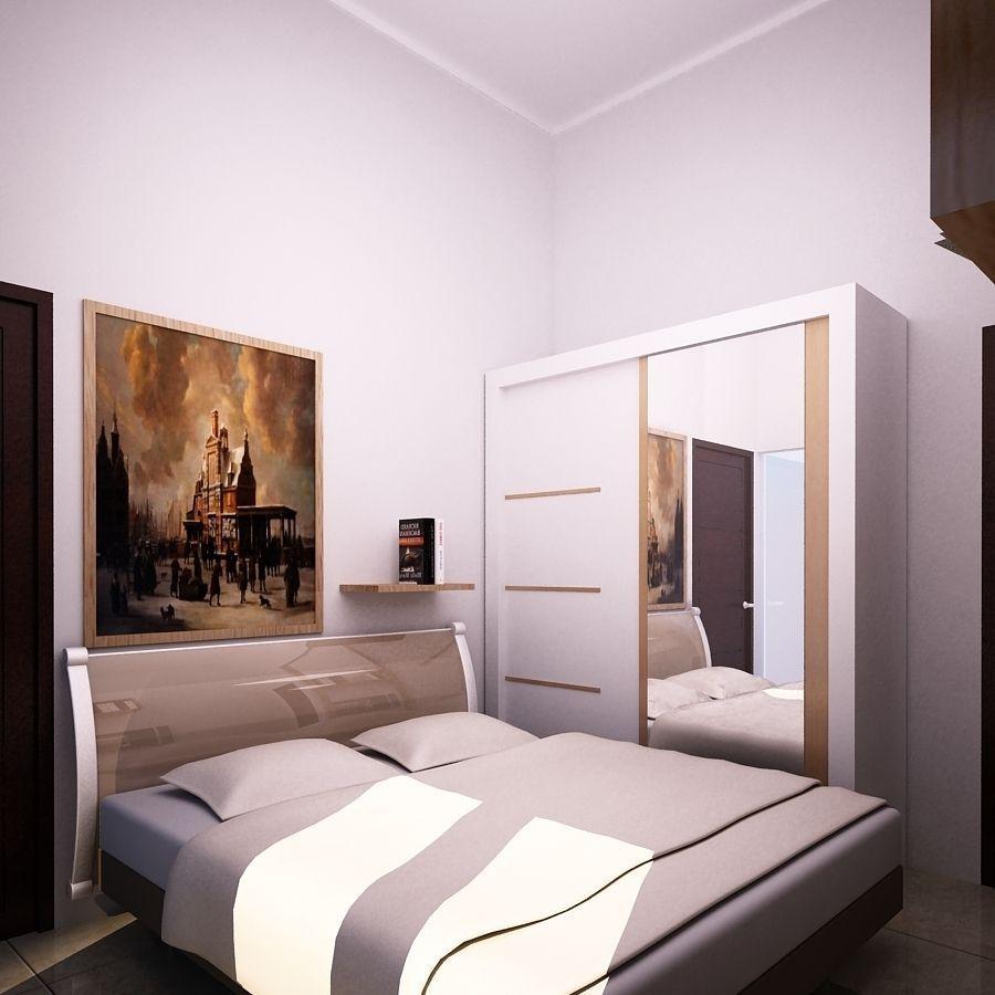 Bedroom Small Free 3d Model Dwg