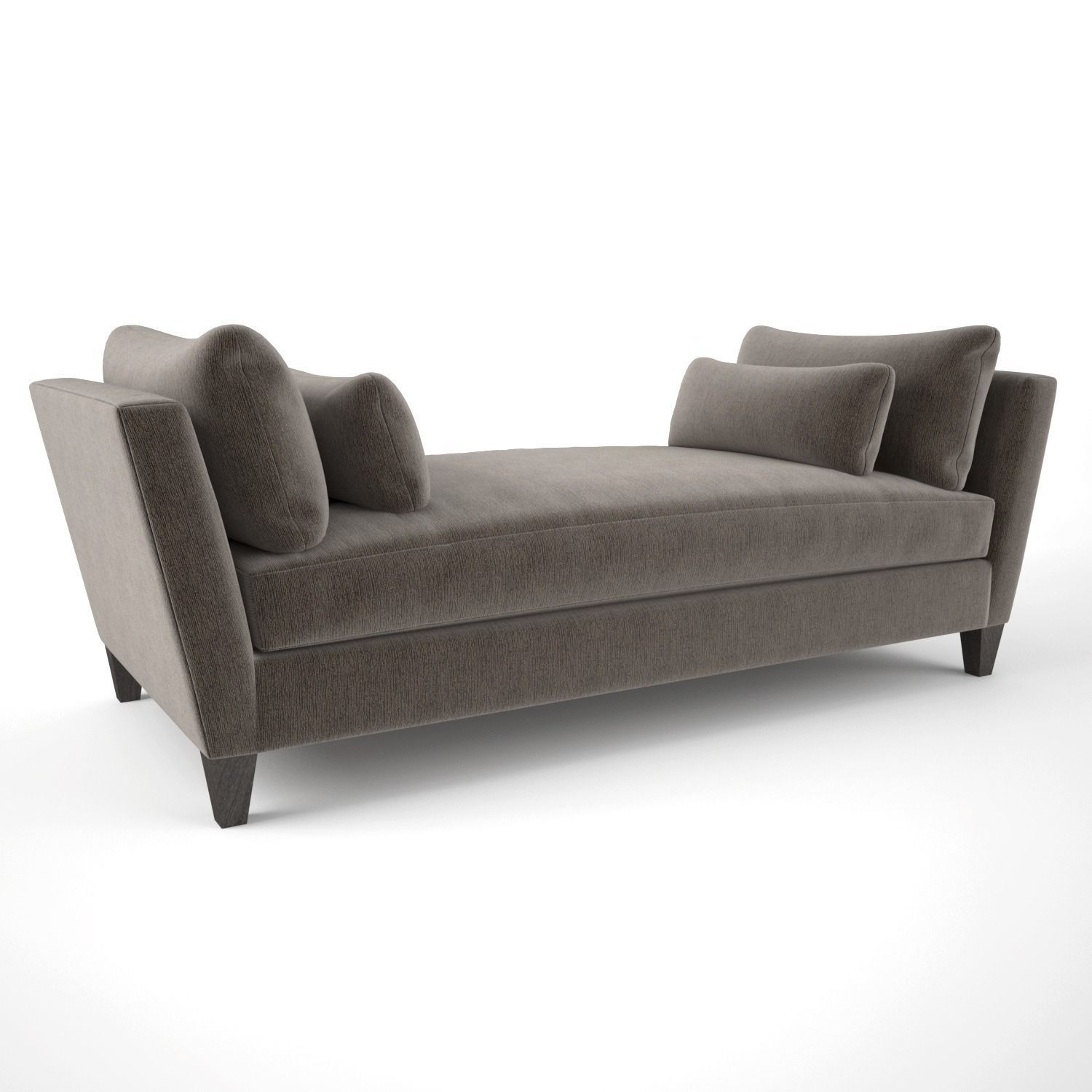 Crate and Barrel Marlowe Daybed Sofa 3D model