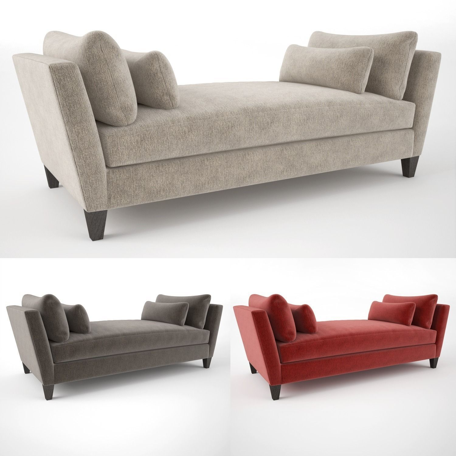 Surprising Crate And Barrel Marlowe Daybed Sofa 3D Model Andrewgaddart Wooden Chair Designs For Living Room Andrewgaddartcom