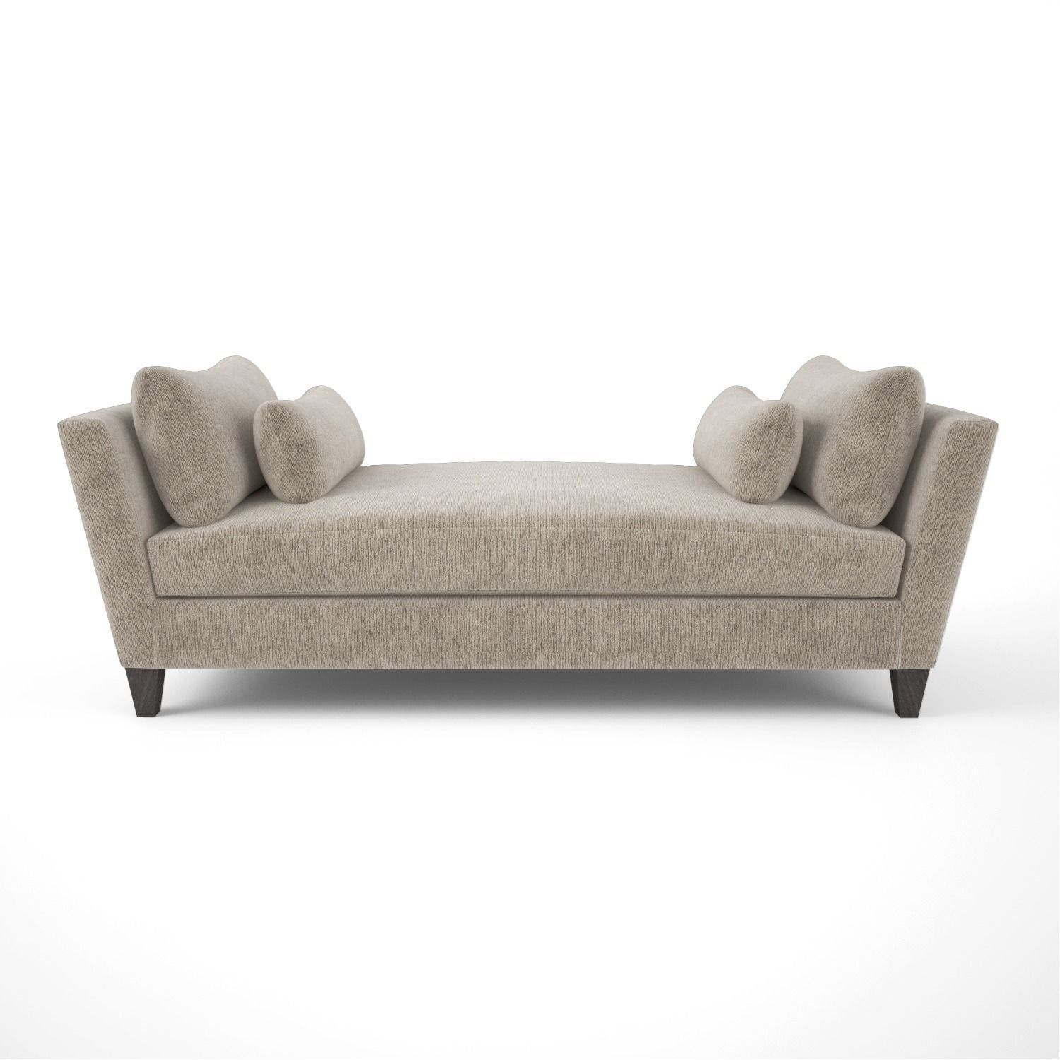 Crate and Barrel Marlowe Daybed Sofa 3D model | CGTrader