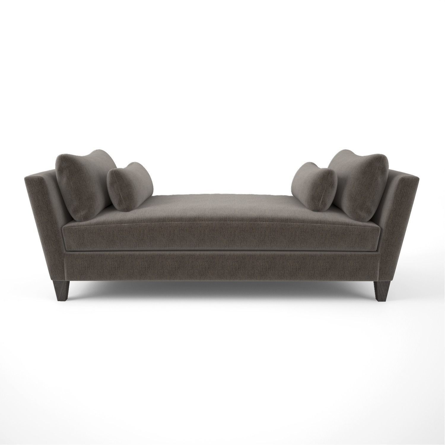Crate And Barrel Marlowe Daybed Sofa 3d Model Max Obj 3ds Fbx