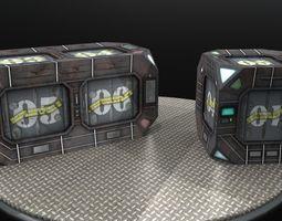 Crates version 2 3D asset