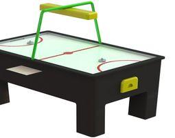 3D model fun air hockey table