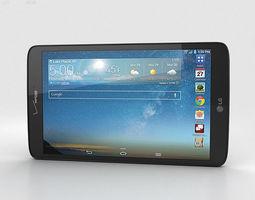 lg g pad 8-3 inch lte black 3d model