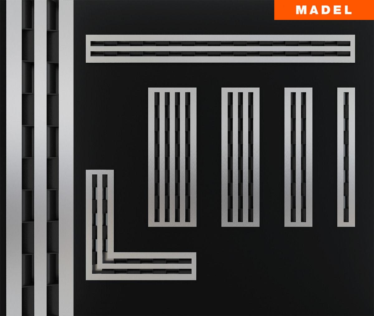 Linear Slot Diffusers 3d Model Max Cgtrader Com