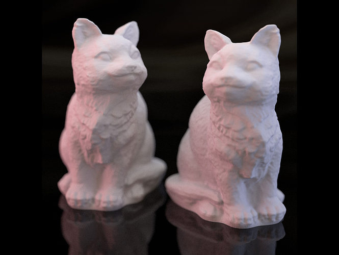 adorable kitties 3d model stl 1