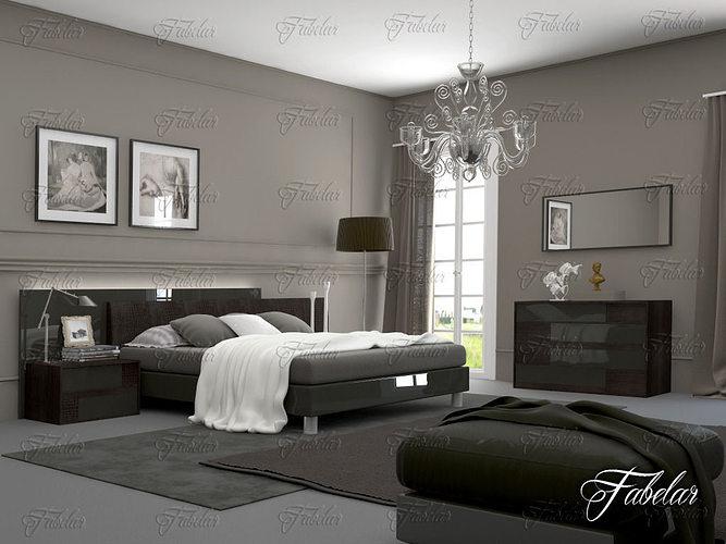 bedroom 11 3d model max obj 3ds fbx c4d dae 1