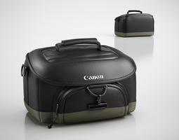 camera bag 3d model max obj 3ds c4d