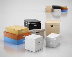 3D Storage boxes