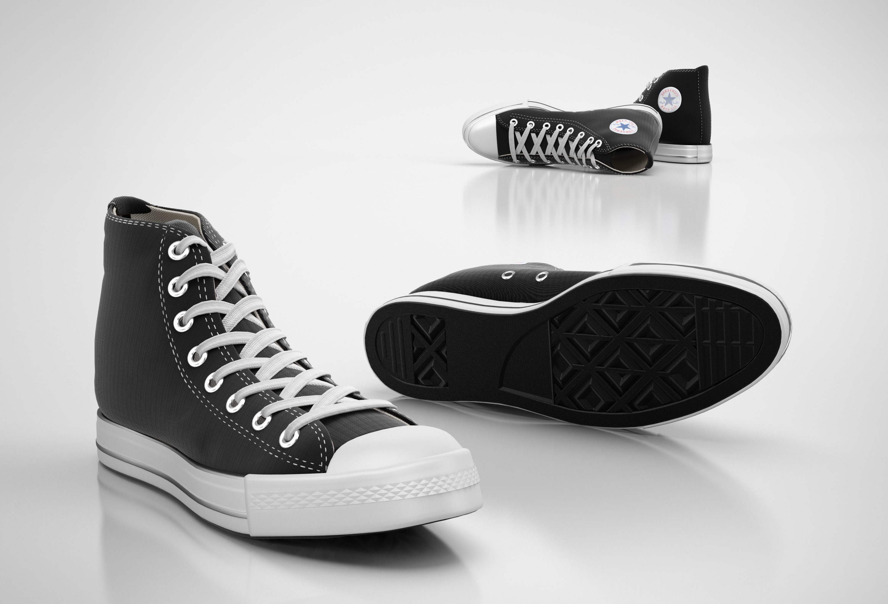 converse shoes 3ds max download