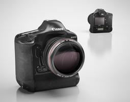 Canon digital camera 3D Model