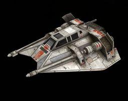 STAR WAR T47 Game res Model 3D Model