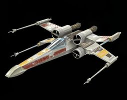 realtime star war  xwing game res model