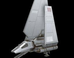 3D model STAR WAR LambdaShuttle