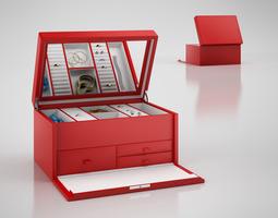 Jewelry trunk 3D model