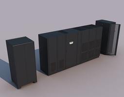 Computer server 3D