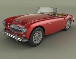 3D Austin-Healey 3000 Mk2