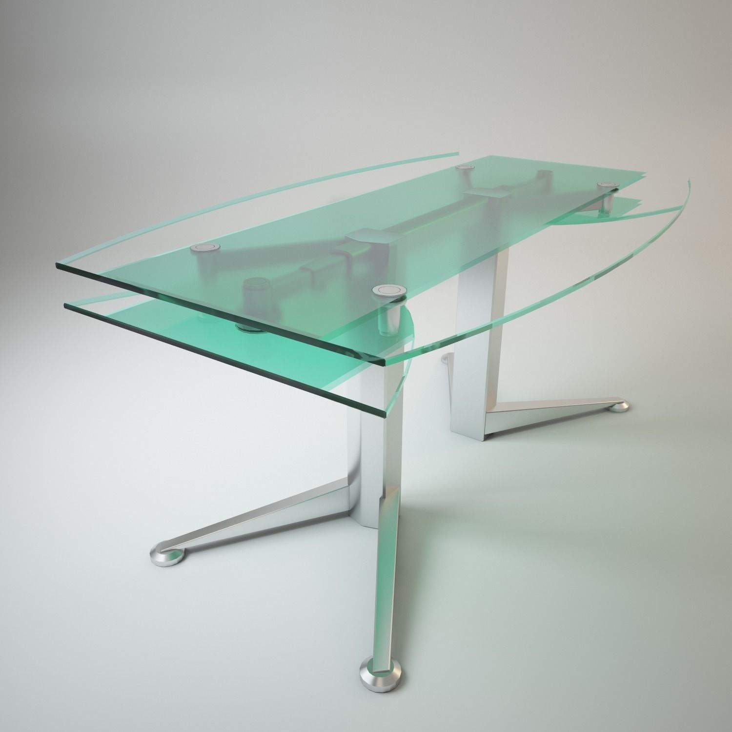 3d Folding Glass Table Spectrum Cgtrader