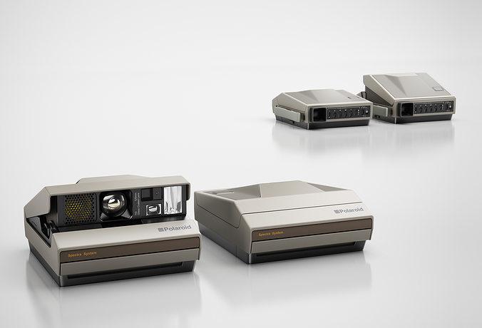 classic camera 3d model max obj mtl 3ds c4d 1