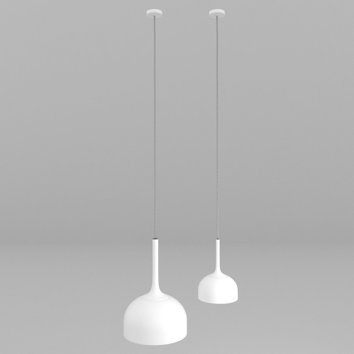 normann copenhagen hang lamp 3d model max obj 3ds fbx. Black Bedroom Furniture Sets. Home Design Ideas