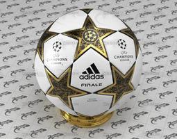 3D Champions League Ball