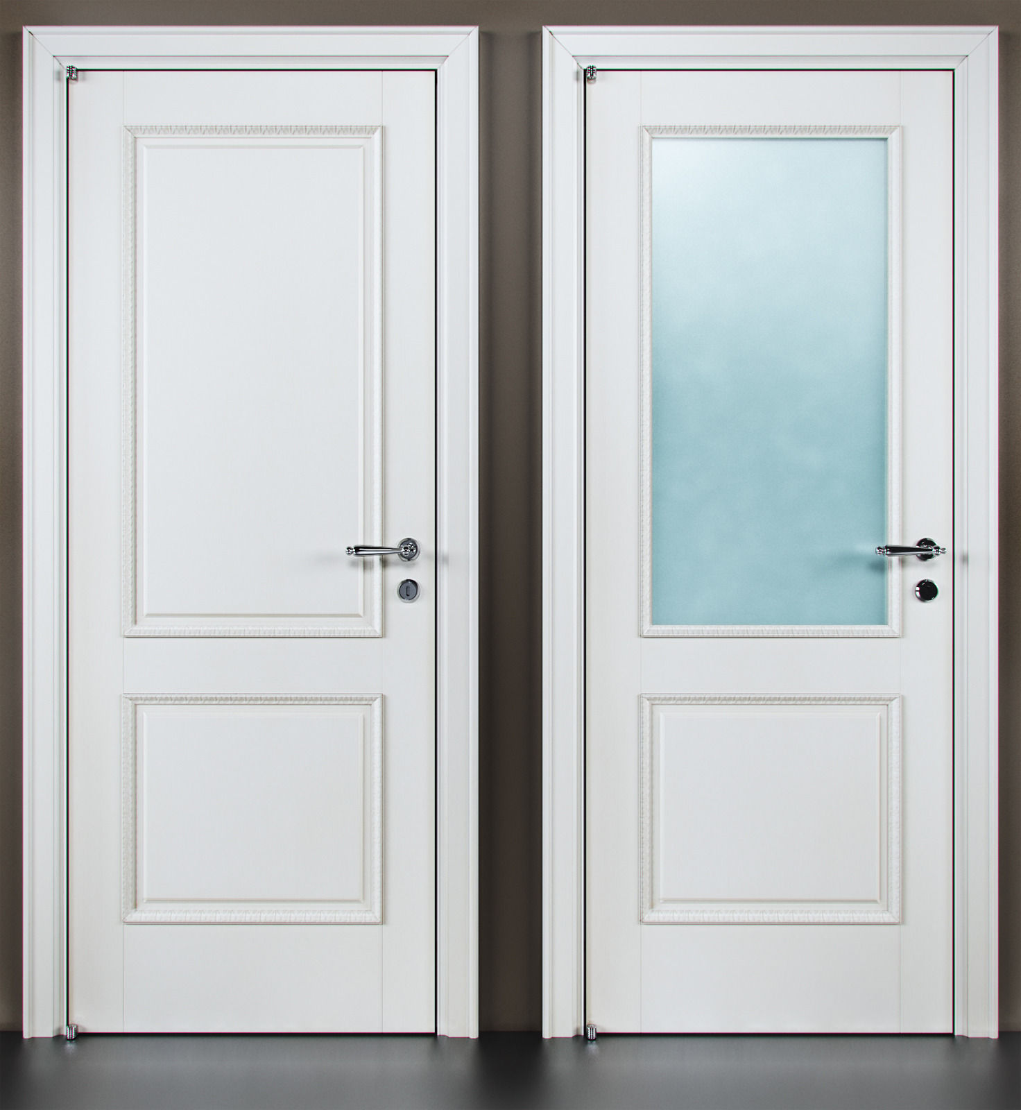 Door barausse 12 3d model max fbx for Door 3d model