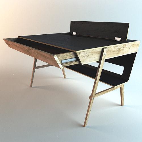 3d model sova design polyarc table cgtrader for 3d table design