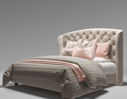 3D model Teddy bed