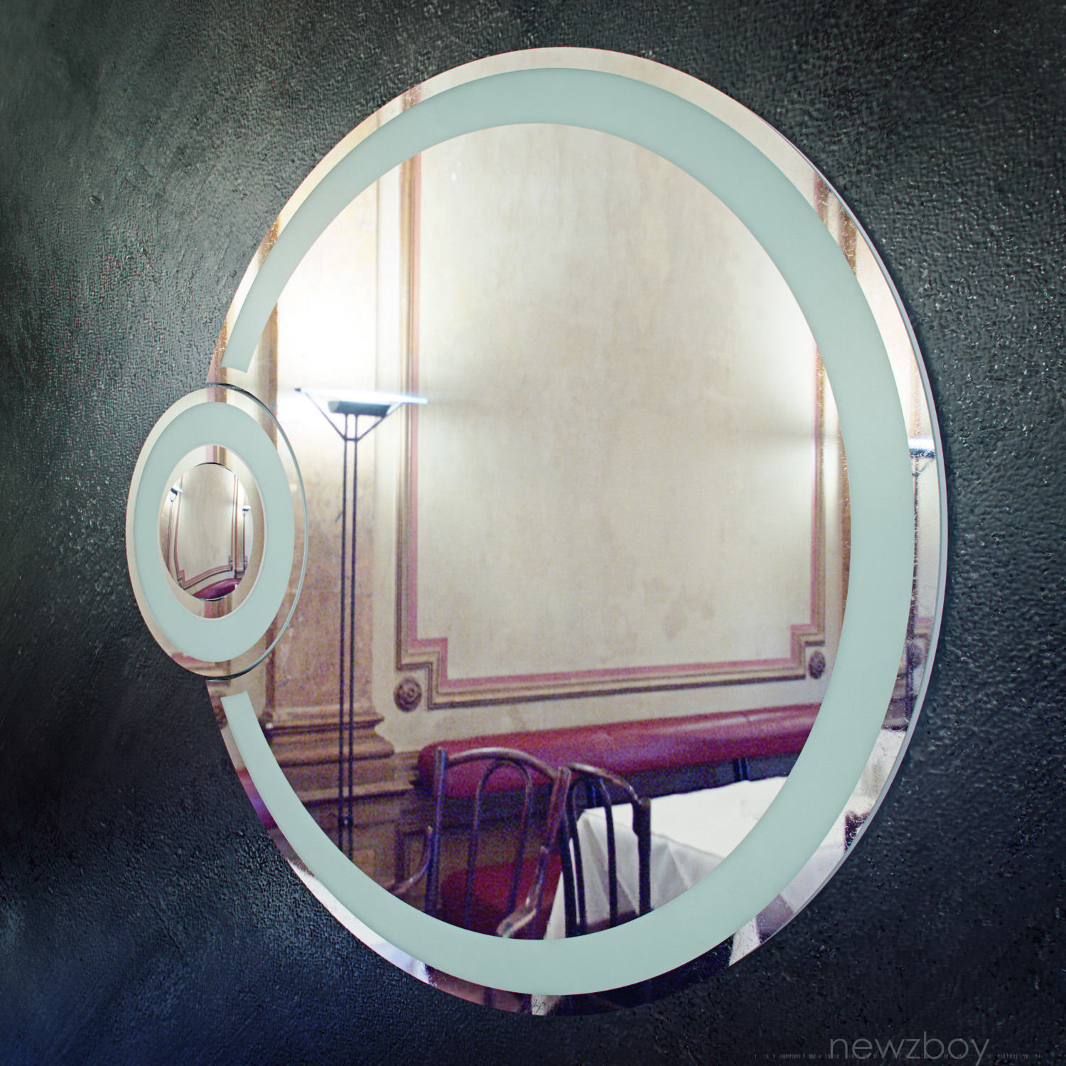 round bathroom mirror with lights bathroom mirror with light eclipse free vr ar 24069