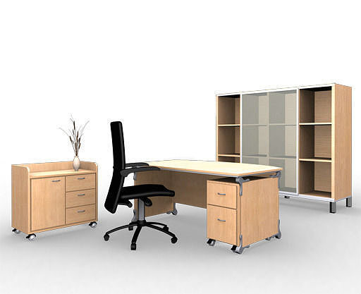 3D 27 Classic Office Furniture Collection | CGTrader