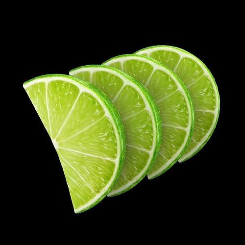 lemon slice 3d model max obj mtl 1