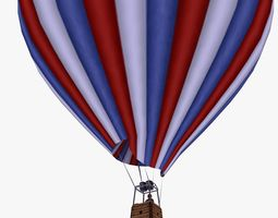3D model Hot Air Sports Balloon