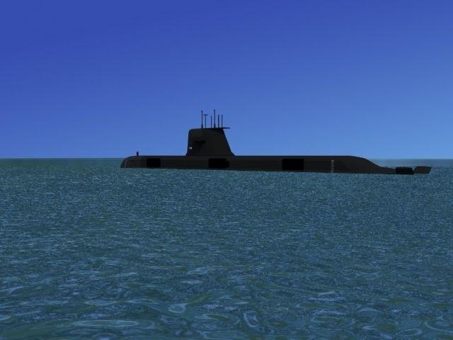 Collins Class HMAS Rankin 78