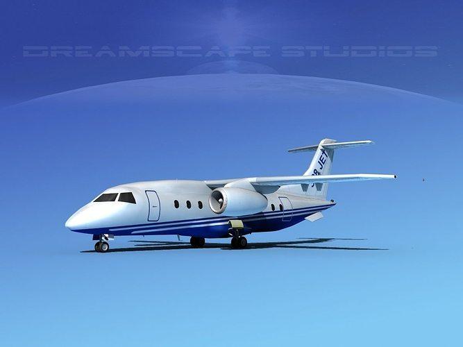 dornier 328jet dornier 3d model max obj mtl 3ds lwo lw lws dxf stl 1
