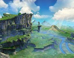 Mountain Scene 3D