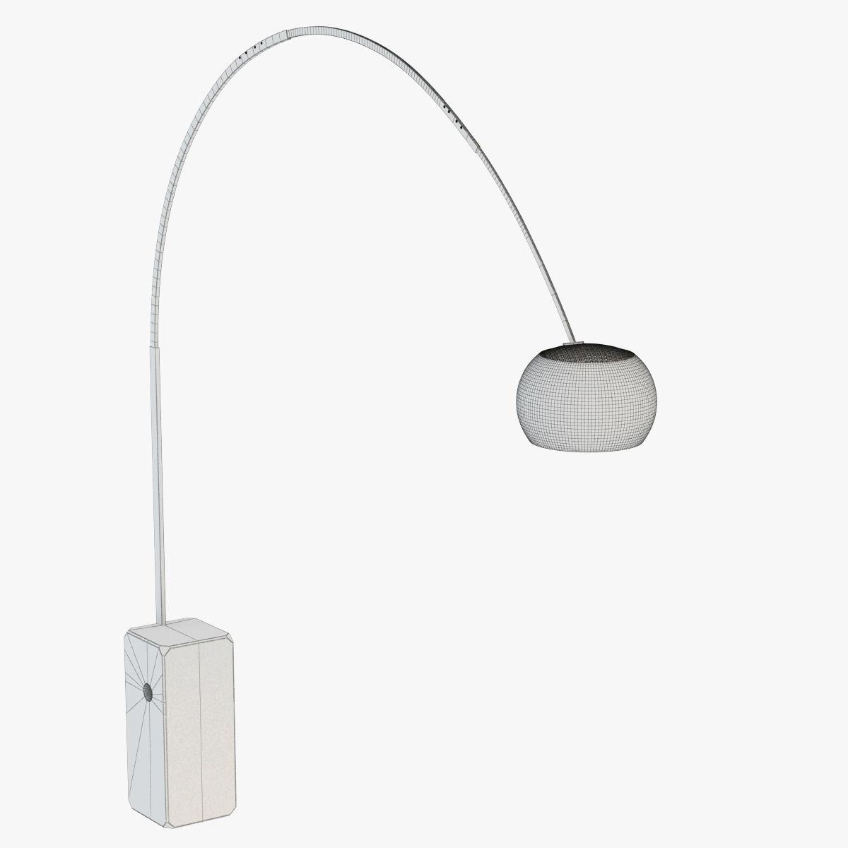 3d floor lamp flos arco cgtrader floor lamp flos arco 3d model max obj fbx mtl 6 aloadofball Images