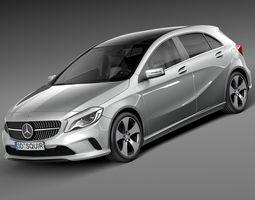 Mercedes-Benz A-Class 2016 3D Model