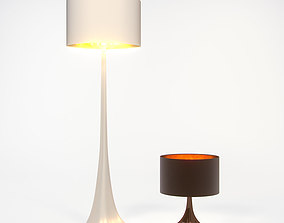 Se London Young Tree Lamp collection 3D model