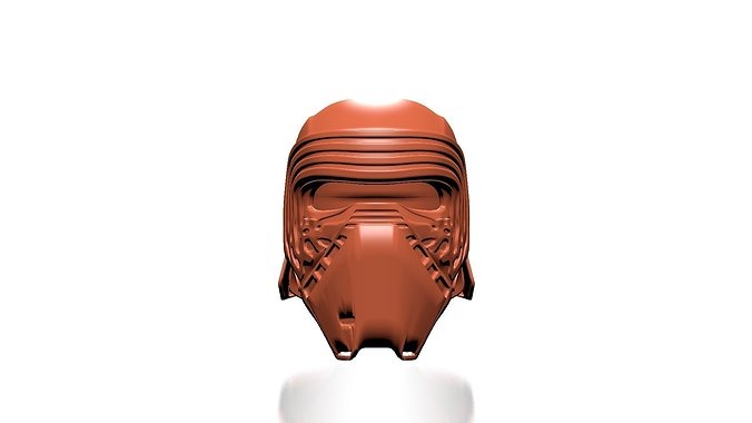 kylo ren helmet - starwars the force awakens 3d model stl 1
